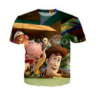 3D T-Shirt Print movies Toy Story 3 Womens Mens Casual Tee Short Sleeve Top