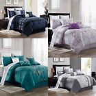 3PCS SET NOBBY BED DUVET COMFORTER COVER TOP ELEGANT STYLES With Pillow Shams   image