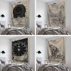 Magical Moon Sun Tarot Tapestry Wall Hanging Bedspread Tapestries Cover BeachMat