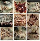 3D Realistic Special FX Zombie Rot Halloween Glue/Latex Free Prosthetic Transfer