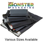 9x12 Inch Grey Mailing Bags Postal Postage 60mu Mail Strong Poly Self Seal Cheap