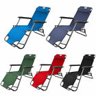 Highquality Reclining Folding Beach Garden Sun Lounger Chair Blue Green Red Navy