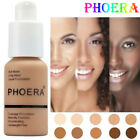 PHOERA Liquid Make Up Foundation Full Coverage LONG LASTING Face Concealer Matte
