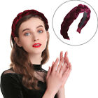 Women's Velvet Hairband Headband Braid Twist Hair Loop Bands Retro Accessories