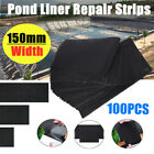 100Pcs Pond Liner Tape Self Adhesive  Repair EPDM 150X100MM/150X200MM/150X300MM, used for sale  Shipping to Canada
