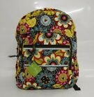NWT Vera Bradley Iconic Campus Backpack Disney Mickey and Friends Paisley