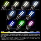 BPS Lighting Xenon HID Replacement Bulbs H11 All Colors Premium Ceramic Base 35w