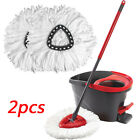 4Pc Replacement Head Easy Home Cleaning Mopping Wring Spin Mop Refill O-Cedar