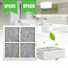 8 PACK Replacement Refrigerator Air Filter for LG LT120F Kenmore Elite 469918 US