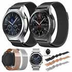 For Samsung Gear S3 Frontier Classic Milanese Magnetic Loop Steel Band Strap US image