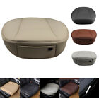 Deluxe Car Front Seat Cover Cushion Protector Mat Set 3D PU Genuine Leather Feel on eBay