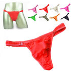 Men Sexy Translucent Panties Low-Rise Underpants G-String Thongs Knickers L-2XL
