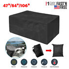 """84""""/47"""" Patio Cover, Outdoor Furniture Cover, Table Chair Seat Lounge Porch Sofa"""