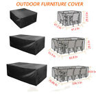 Outdoor Furniture Cover Waterproof Patio Garden Wicker Sofa Couch Protector Pvc
