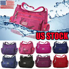 US Women's Tote Messenger Cross Body Handbag Hobo Bag Ladies Shoulder Bag Purse image