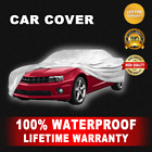 Car Cover SILVER New 100% Waterproof Heat Protection Outdoor UV Breathable $39.35 USD on eBay