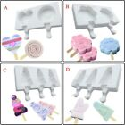 Summer Variety Handmade Chocolate Ice Cream Silicone DIY Cute Popsicle Mould US