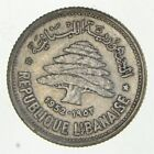 Roughly Size of Quarter - 1952 Libya 50 Dirhams - World Silver Coin *770