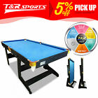 6FT / 7FT / 8FT MDF Pool Billiards Snooker Table Free Accessory Kit $449.99 AUD on eBay