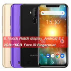 "6.18"" Oukitel C12 Smartphone Android 8.1 Quad-core 2gb+16gb Face Id Mobile Phone"
