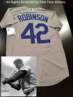 NEW Jackie Robinson Los Angeles Dodgers Men's Gray / Road Cool Base Jersey on Ebay