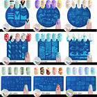 BORN PRETTY Nail Art Stamping Plates Image Stamp Stencils Templates Manicure DIY