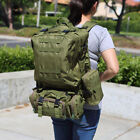 US 55L Molle Outdoor Military Tactical Bag Camping Hiking Trekking Backpack