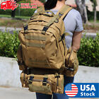 Внешний вид - US 55L Molle Outdoor Military Tactical Bag Camping Hiking Trekking Backpack
