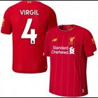 2019/2020 BRAND NEW VIRGIL #4 LIVERPOOL HOME JERSEY