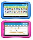 """KURIO TAB CONNECT 16GB + 32GB 7"""" Kids Android Tablet Apps Bluetooth - Blue/Pink"""