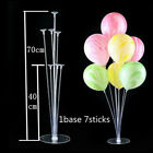 Clear Balloon Column Display Stand Holder Base for Wedding Party Birthday Decor