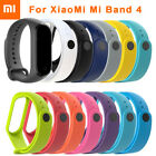 For XIAOMI MI Band 4 /MI Band 3 Original Silicon Wrist Strap WristBand Bracelet