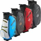 2019 WILSON STAFF GOLF DRY TECH II MENS WATERPROOF CART BAG 14 WAY DIVIDER