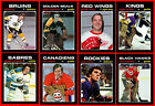 RETRO 1970s High Grade NHL Hockey Card Style PHOTO CARDS U-Pick + Bonus Offer! $0.84 USD on eBay