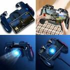 Cooling Phone PUGB Gaming Game Controller Joystick + Fan Gamepad For IOS Android