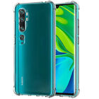 Shockproof Clear Silicone Case Cover For Xiaomi Mi 9T Pro 9 SE 8 A2 Lite A1 F1
