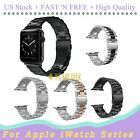 Wrist Strap For Apple iWatch Series 4/3/2/1 Stainless Steel Watch Band 38/42mm