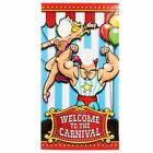 Under the Big Top Photo Door Banner Carnival Party Decoration Photobooth