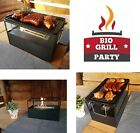 Grill Burner BBQ Table Barbecue Bioethanol Fuel Fireplace Iron Plate