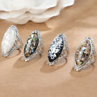 Bohemian Vintage Shell Women's Ring Fashion Geometric Exaggerated Party Ring image