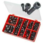 Plain Black M5 M6 M8 M10 Socket Cap Auto Screw TORRES Assortment Kit #AAK17