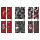 LIVERPOOL FC DIGITAL CAMOUFLAGE PU LEATHER BOOK WALLET CASE FOR MOTOROLA PHONES