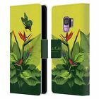 OFFICIAL FRIDA KAHLO TROPICAL LEATHER BOOK CASE FOR SAMSUNG PHONES 1