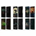 OFFICIAL CHRISTOS KARAPANOS HORROR 2 LEATHER BOOK CASE FOR SONY PHONES 1