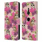 HEAD CASE FLORAL & ANIMAL PATTERN LEATHER BOOK WALLET CASE FOR SONY PHONES 1