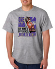 USA Made Bayside T-shirt Christian One Man Can Make A Difference Jesus