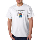 USA Made Bayside T shirt New Jersey State Seal