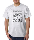 Bayside Made USA T-shirt Pets Dog All I care About My Airedale Terrier 3 People