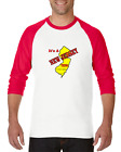 Raglan T-shirt 3/4 Sleeve Long It's New Jersey Thing You Wouldn't Understand   image