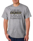 Gildan Short Sleeve T-shirt I Am Engineer Save Time Assume I'm Right Always